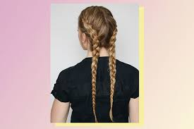 weave two duky braid hairstyle 6 double braid hairstyles bebeautiful