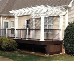 Attached Pergola Plans by Shaded Attached Pergola Design Plans For Your Home Pergola