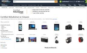 black friday amazon refurbished you can buy electronics on amazon with discounts of up to 80