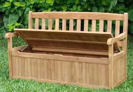 Garden Bench With Storage Outdoor Bench Storage Outdoor Bench Storage Hardwood Outdoor Bench