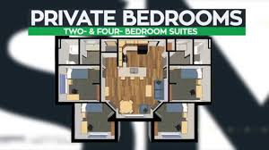 college dorm floor plans southwestern michigan college student housing youtube