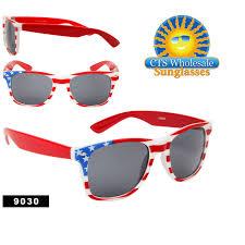 Flag Sunglasses American Flag California Classics 9030 Bulk Pack All U S Flags