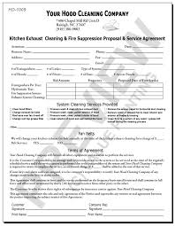 kitchen exhaust cleaning service reports invoices service