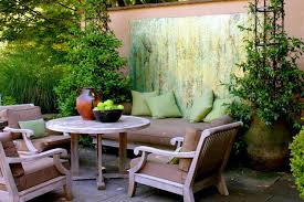 Ideas For Small Backyard Spaces Accessories Decorating Small Patio Table With Iron 5 Small