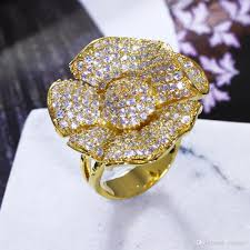 big finger rings images Big flower rings images jpg