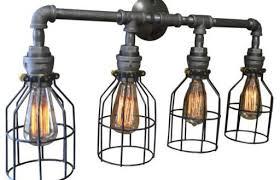 Industrial Bathroom Light Fixtures Best Bronze Bathroom Light Fixtures And Vanity Lighting Industrial