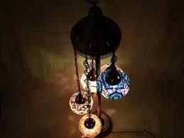 Mosaic Floor Lamp Mosaic Lamps Mosaic Floor Lamp 5 Globes Alissar International