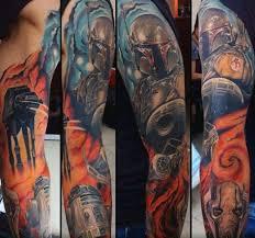 60 r2d2 tattoo designs for men robotic star wars ink