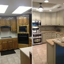 Updated Kitchens Before And After For Updating Drop Ceiling Kitchen Fluorescent