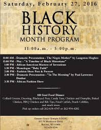 black history program template 28 images best photos of church