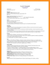 Sample College Freshman Resume by Resume Sample For Freshman College Student Templates