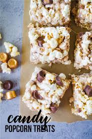 candy popcorn treats with rolos thirty handmade days