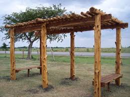Pergola Corner Designs by Best 25 Rustic Pergola Ideas On Pinterest Pergola Pergola