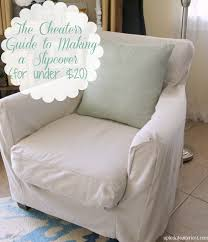 club chair covers the cheater s guide to a slipcover for 20 up to