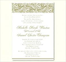 Popular Personal Wedding Invitation Cards Free Personalized Wedding Invitation Samples 5647