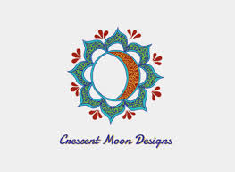 crescent moon designs logo your websteryour webster