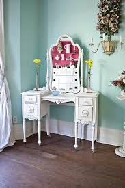 Shabby Chic Vanity Table by Custom Order Antique Vanity Shabby Chic White Distressed