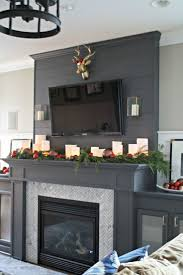 Decorate Fireplace by Best 25 Candle Fireplace Ideas On Pinterest Fireplace With