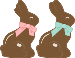 easter chocolate bunny easter chocolate bunny clipart clip library