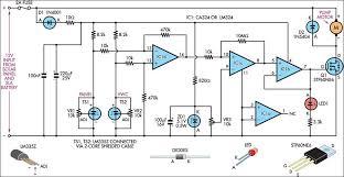 solar water panel differential pump controller circuit diagram jpg