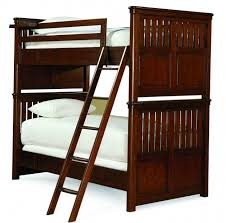 Triple Wood Bunk Bed Ladder Only With Extra Tall Ladder In Gray - Replacement ladder for bunk bed