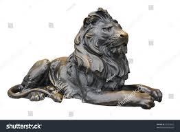 metal lion sculpture copper lion sculpture stock photo 55787062