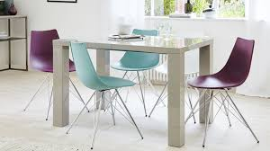 High Gloss Extending Dining Table White High Gloss Extending Dining Table And 8 Grey Chairs Set