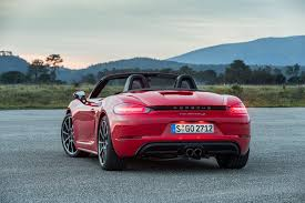 Porsche Boxster Red - 2017 porsche 718 boxster first drive review motor trend
