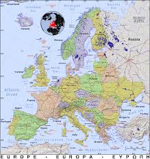 Map Of Europe With Countries by Europe U003e Go Enterprises
