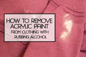 How To Remove Paint From Upholstery 5 Liquids That Can Remove Dried Acrylic Paint From Surfaces