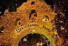 festival of lights riverside 2017 4 million lights illuminate the mission inn s holiday extravaganza