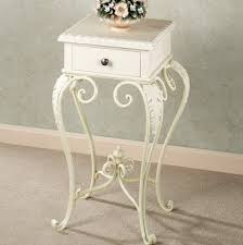 White Accent Table by White Accent Table With Drawers Home Design Ideas