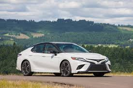 2018 toyota camry performance review the car connection