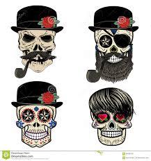 bearded sailor skull cerca con dia de las muertos