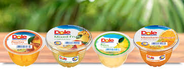 dole fruit bowls fruit bowls in 100 juice