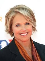 news anchor in la short blonde hair katie couric hot katie couric prepares for new talk show with