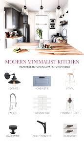 modern kitchen cabinets on a budget desigining a minimalist kitchen budget friendly essentials