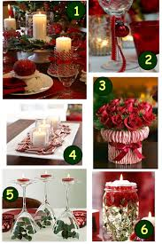 Beautiful Decoration Element Home Element Beautiful White And Red Christmas Dinner Table