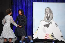 obama dresses obama wore a milly gown in new portrait this is its