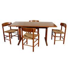 original borge mogensen teak shaker style dining table at 1stdibs