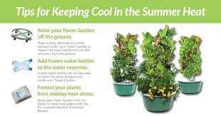 Shade Cloth Protecting Your Plants by Backyard Tower Garden Tower Garden Aeropoinc Vegatable Growing