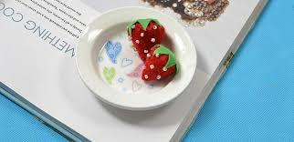 Strawberry Home Decor On How To Make Felt Strawberry Home Décor For