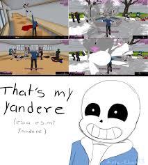 Meme Comics Tumblr - lovesick yandere simulator tumblr also i wasn t sure weather to