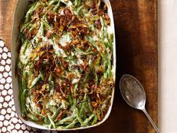 green bean casserole with crispy shallots recipe ellie krieger