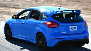 hatchback cars 2016 2016 ford focus rs hatch review with price horsepower and photo