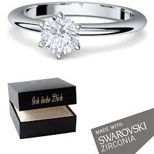 verlobungsringe silber diamant verlobungsringe silber 925 swarovski ring damenring