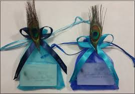 peacock wedding favors peacock wedding dress and ideas for decor everafterguide
