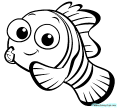 Nemo Coloring Pages To Download And Print For Free Nemo Color Pages