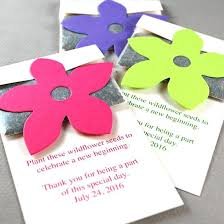 flower seed paper flower seed packets wedding favors grow wildflowers with these