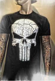 100 craftsman 48250 the punisher no sweat skull logo men